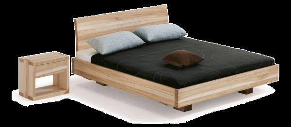 Dormiente Massivholzbett Morell